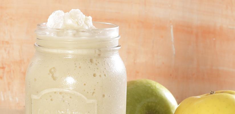 Smoothie de Manzana y Té Verde