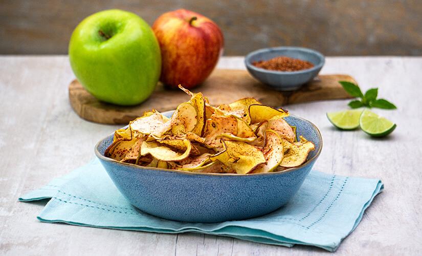 Chips de Manzana con Chile Piquín