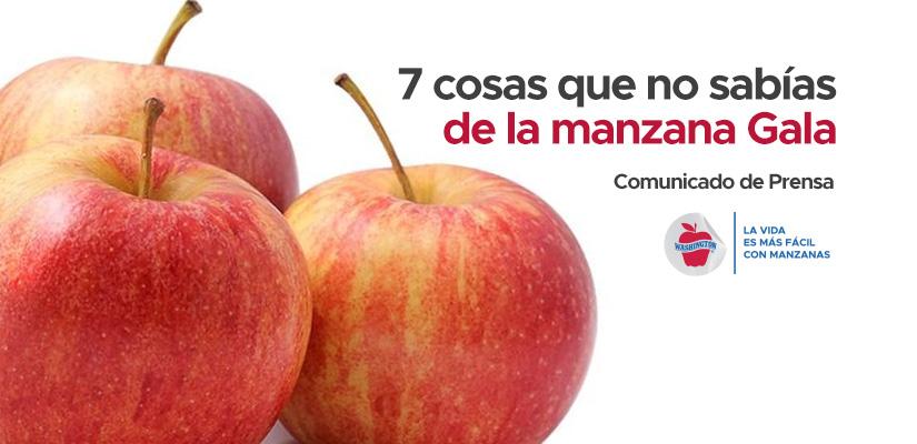 7 cosas que no sabías de la manzana Gala.