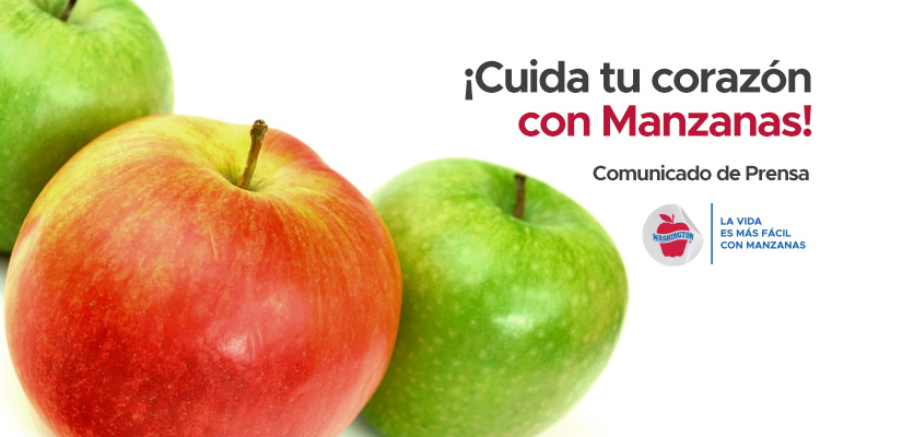 Cuida tu corazón ¡con manzanas!